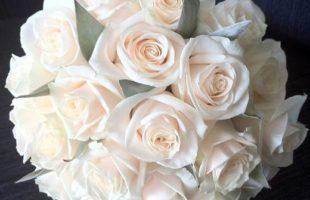 Peach Bridal Bouquets