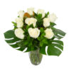 White Rose Bouquet in Browns Bay Auckland